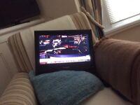 Flat screen TV with HMDI
