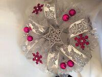 Christmas wreaths geo mesh