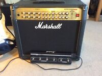 Marshall Valvestate 2000 AVT150 Guitar amplifier (valve pre-amp). C/W footswitch