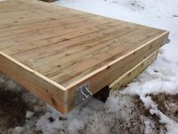 New floating dock 6'x10' and 6'x16' Scratch and dent crazy price