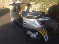 VESPA 50cc SCOOTER, FULL MOT, BARGAIN!