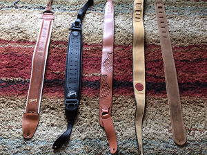 Guitar Straps- Taylor, Gibson, Martin, Levys and assorted others