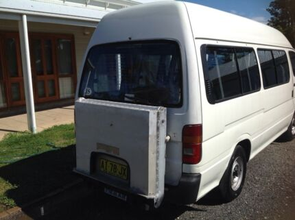 Toyota hiace 1996 manual disabled transport  Middle Dural The Hills District Preview