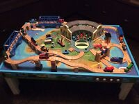 Thomas Train Set with Table, Trains and Storage Box