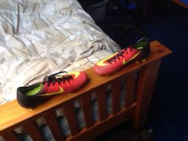 Selling Nike football boots