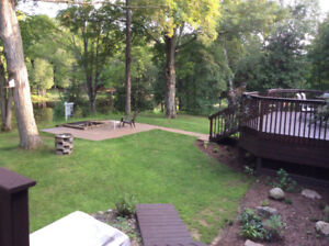 Natural and private waterfront home, Kingston, OPEN HOUSE SAT