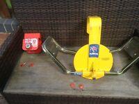 ALCO wheel clamp and ALCO hitch lock