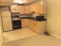 Bright, clean, 1 bedroom basement apartment for rent! All Incl