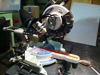 King sliding compound mitre saw