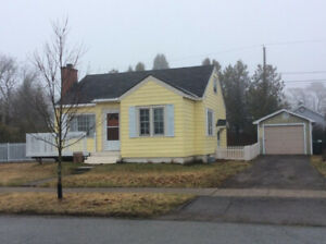2 B/R + den 1 bath house with garage for rent Fundy Heights