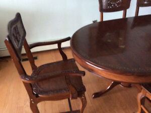 Beautiful Handcrafted Rosewood Dining Table!
