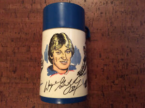 Wayne Gretzky Early 80s Aladdin Thermos (Complete)
