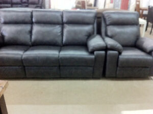 reclining couch and chair - delivery available