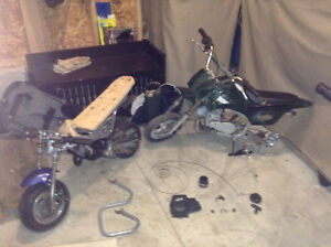 2 pocket bikes for a project or parts