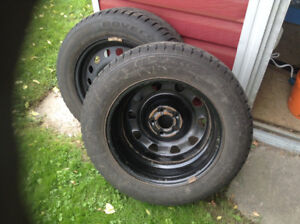 car tires and rims set of 4