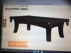 new  4x8 pool table or 3.5x7