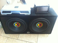 "2 12"" Memphis Subs With Box"