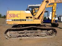 Libeherr 902 track machine digger not jcb hitachi ect