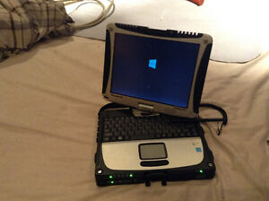 "Military ""grade""PANASONIC TOUGHBOOK ~~Swivel touchscreen"