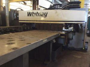 2012 Whitney 3400 XP CNC Turret Punch (#3088)