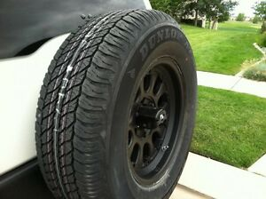 Dunlop P245/75R16 tire (never used)