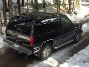 1996 Chevrolet Tahoe LT sport limited edition SUV, Crossover
