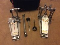 Used: Pearl Demon Drive (chain) Double Bass Drum Pedal P-3002C