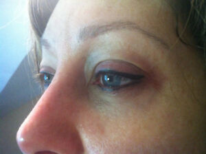 MAQUILLAGE PERMANENT YEUX INTERLASH : $295. TAXES INCLUSES