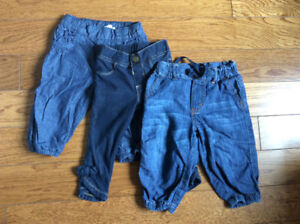 Baby girl jeans - Various sizes