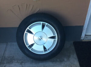 195/65r15 Honda Civic wheels and tires all season