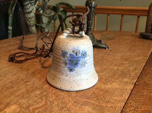 1 CLOCHE en poterie collectionneur ou décoration