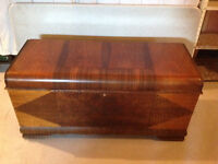 "Vintage ""Lane"" Cedar Lined Chest"