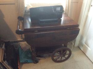 Solid Wood Tea Trolley