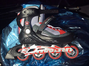 Ladies size 8 roller blades