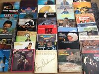 Large collection of vinyl albums and 7""