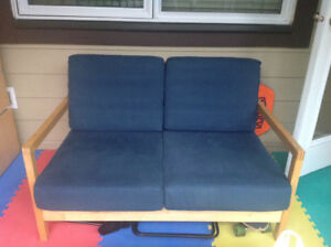 Set of 2 ikea  couches  and 2 chairs