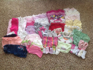 Baby Girl's Clothes - 3 to 6 Months