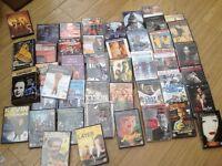 45 DVDs /films / movies