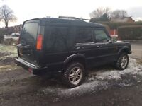 LAND ROVER DISCOVERY TD5 7 SEATER 6 SPEED 04 PLATE