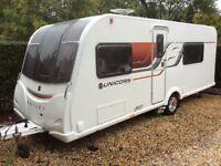 3 berth caravan Bailey unicorn Madrid 3