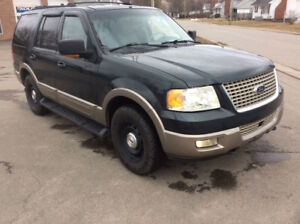 2003 Ford Expedition Eddy Buaer 5.4,7 passenger,DVD,$2500.