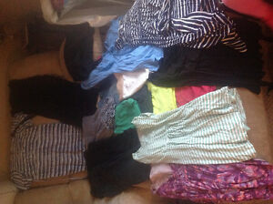 Spring and summer lot of maternity clothes
