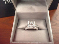 2 CARAT WHITE GOLD DIAMOND RING