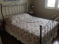 Beautiful Bed Frame with Matress