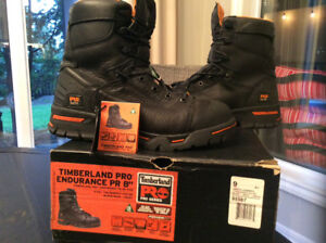 Brand new Men's  Timberland Pro Work Boots size 9W (in box)