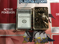 Cartes pokemon 23 karat gold plated! POLIWHIRL!!