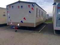 Static Caravan Clacton-on-Sea Essex 3 Bedrooms 8 Berth Cosalt Eclipse CL 2004