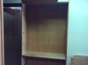 Oak bookcase $40.00 OBO