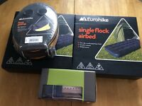 Camping Festival Air Beds , Pump and Lantern . Brand new