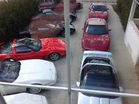 Corvette body panels bumpers doors hoods fenders tops etc
